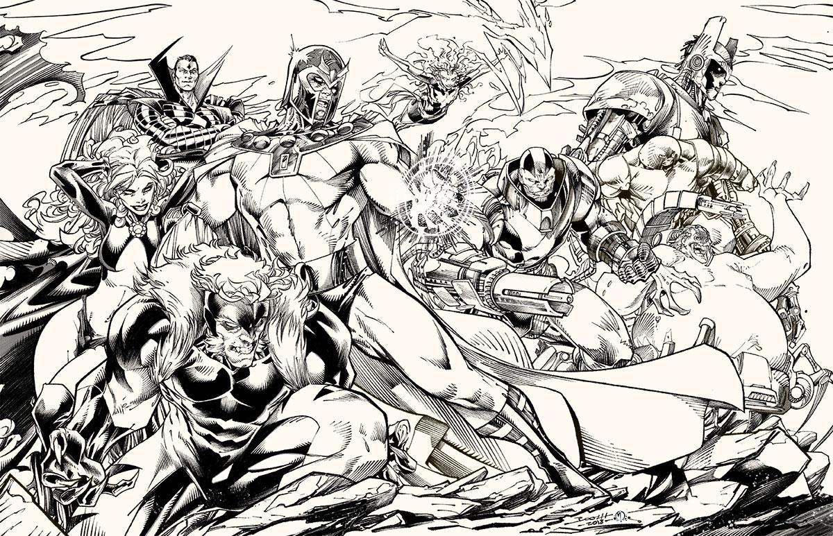 X-Men Bad Guys United