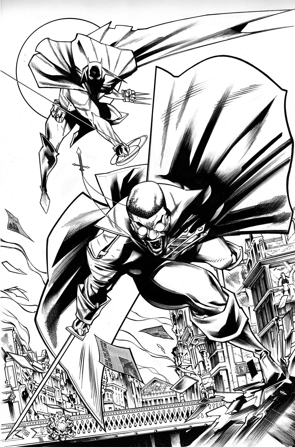 Blade/Batman